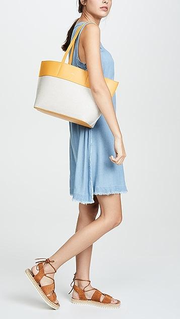 A.P.C. Маленькая объемная сумка с короткими ручками Totally