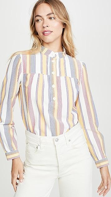 A.P.C.  Loula 女式衬衫