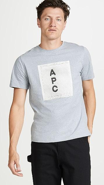 A.P.C. APC Logo T-Shirt