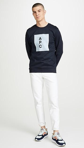 A.P.C. APC Logo Pullover Sweatshirt