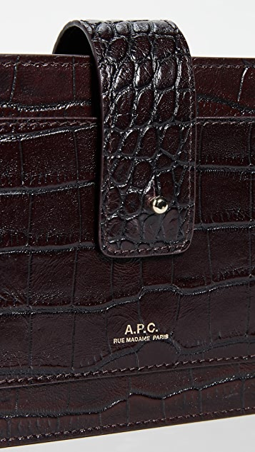 A.P.C. Albane Clutch