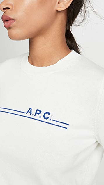 A.P.C. Pull Eponyme Cashmere Sweater
