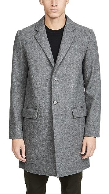 A.P.C. Manteau Visconti Overcoat