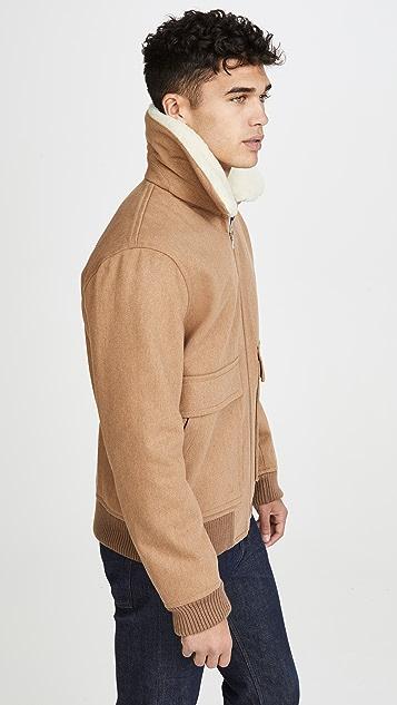 A.P.C. Blouson Bronze Jacket