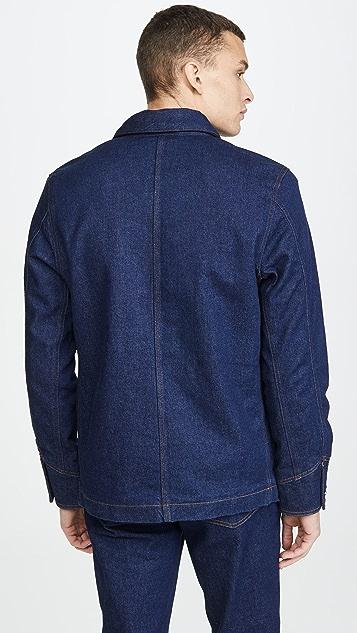 A.P.C. Veste Axel Sherpa Lined Jacket