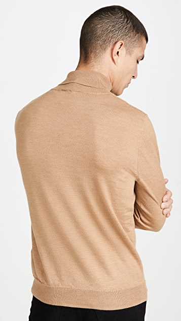 A.P.C. Pullover Dundee Turtleneck Sweater