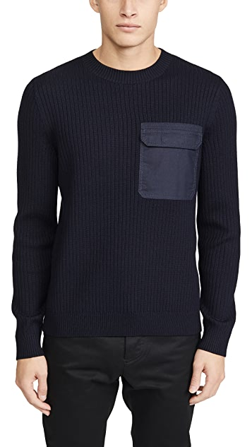 A.P.C. Pull Bluestack Sweater