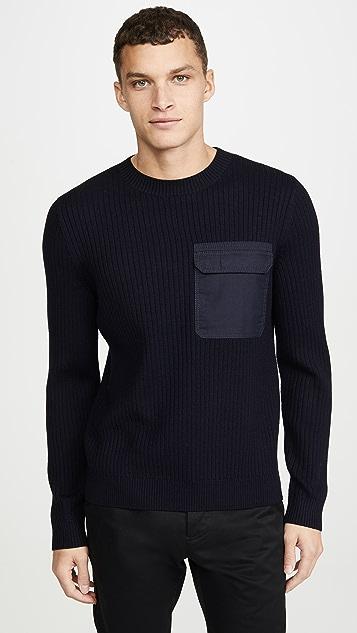 A.P.C. Pull Bluestack Sweater