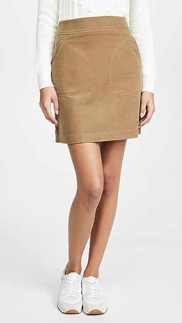 A.P.C.  Jupe Shanya 半身裙
