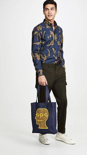 A.P.C. Brain Dead Tote Bag