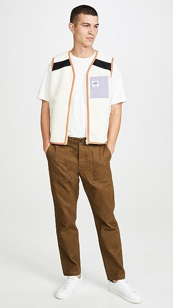 A.P.C. x Brain Dead Fleece Vest