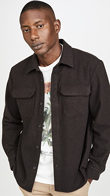 Surchemise Heat Shirt Jacket by A.P.C.
