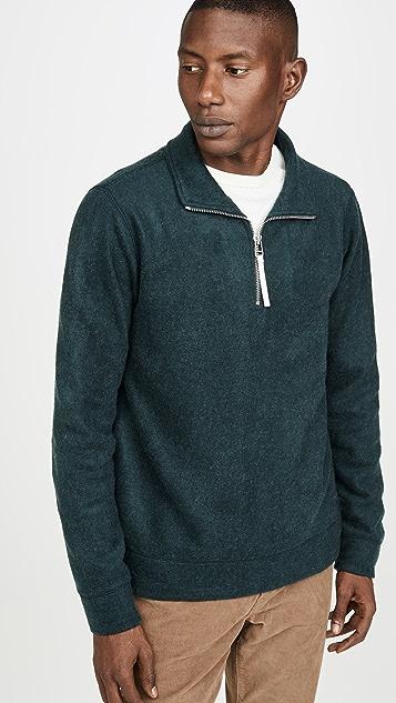 Feyo Quarter Zip Sweatshirt by A.P.C.