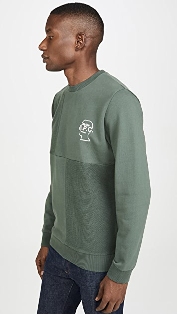 A.P.C. x Brain Dead Pony Crew Neck Sweatshirt