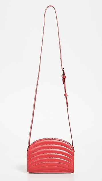 A.P.C. Миниатюрная сумка в виде полумесяца