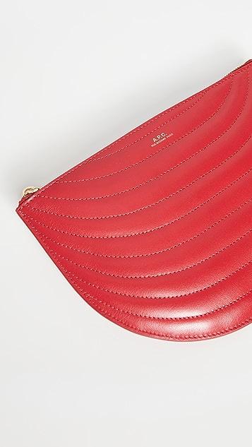 A.P.C.  Demi Lune 小型手提袋