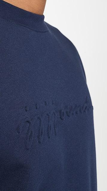 A.P.C. x JJJJound Logo Crew Neck Sweatshirt