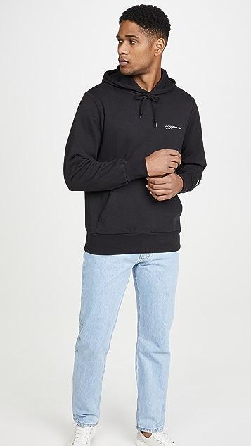 A.P.C. x JJJJound Logo Pullover Hoodie