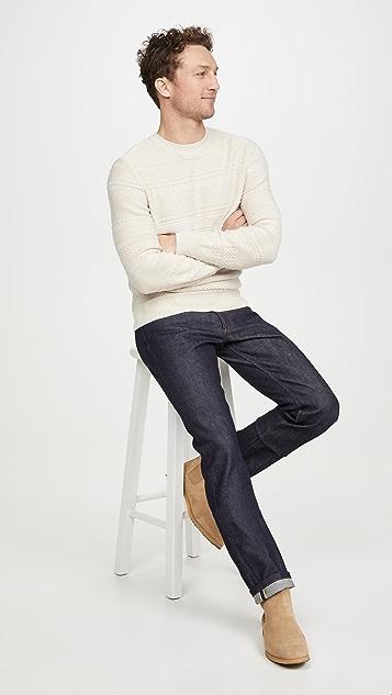A.P.C. Nicolas Pullover Striped Sweater