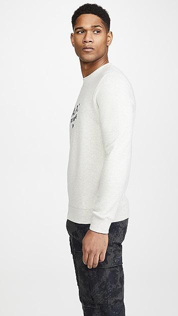 A.P.C. Rufus Logo Crew Neck Sweatshirt