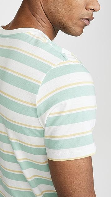A.P.C. Yves Striped T-Shirt