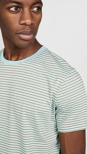A.P.C. Multi Stripe T-Shirt