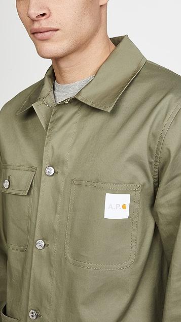 A.P.C. A.P.C. x Carhartt WIP Chore Coat