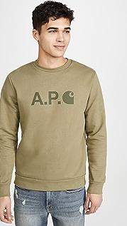A.P.C. A.P.C. x Carhartt WIP Crew Neck Sweatshirt