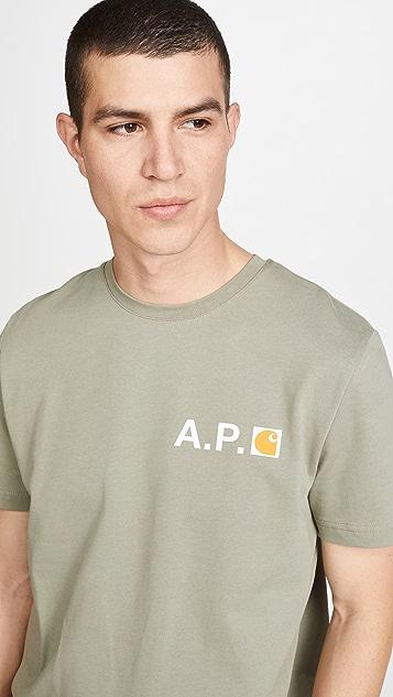 A.P.C. A.P.C. x Carhartt WIP Tee