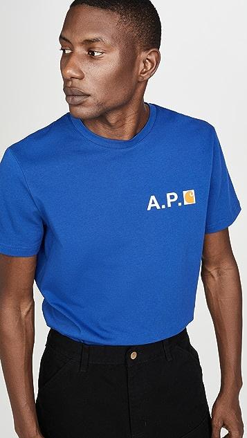 A.P.C. x Carhartt WIP Tee