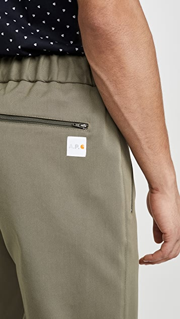 A.P.C. A.P.C. x Carhartt WIP Crossover Pants