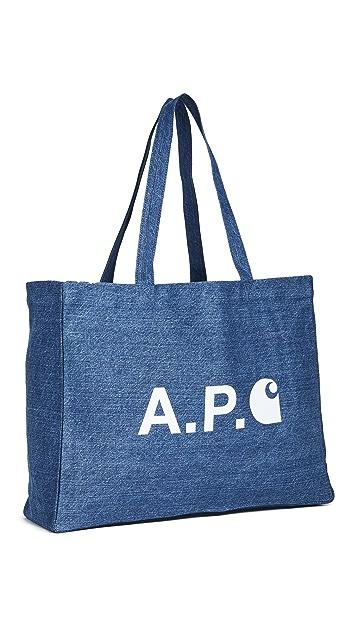 A.P.C. A.P.C. x Carhartt WIP Shopping Tote