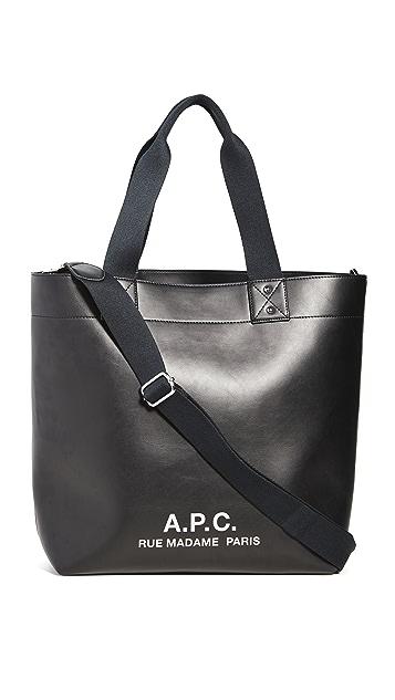 A.P.C. Eddy Tote Bag