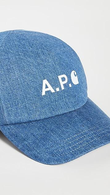 A.P.C. A.P.C. x Carhartt WIP Baseball Hat