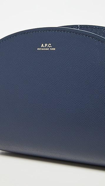 A.P.C. Demi Lune Mini Bag