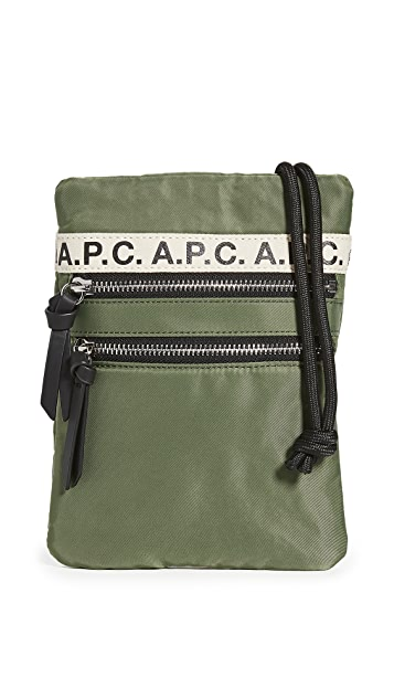 A.P.C. Repeat Neck Pouch