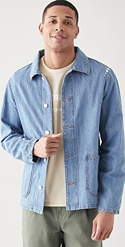 A.P.C. - x RTH Denim Chore Coat