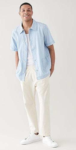 A.P.C. - x RTH Santal Short Sleeve Shirt