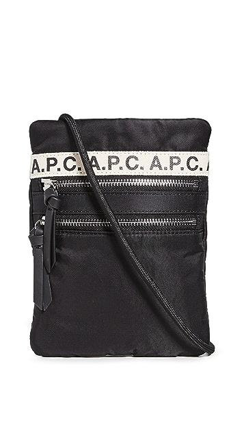 A.P.C.  颈挂手包