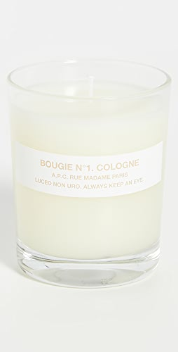 A.P.C. - Bougie No. 1 Cologne Scented Candle