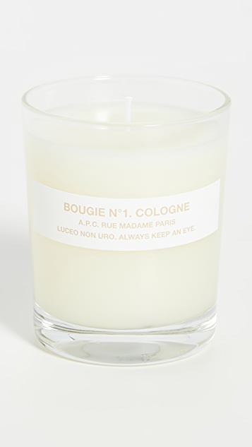 A.P.C. Bougie No. 1 Cologne Scented Candle