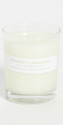 A.P.C. - Bougie No. 2 Jasmin Vert Scented Candle