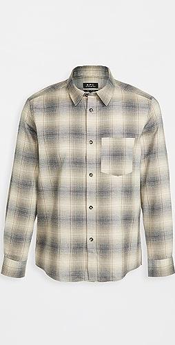 A.P.C. - John Checker Shirt