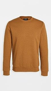 A.P.C. Capitol Crew Neck Sweatshirt