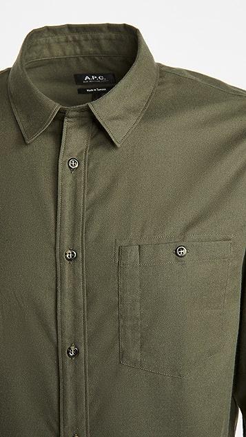 A.P.C. Chicago Button Down Shirt