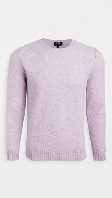 A.P.C. Andre Crew Neck Sweater
