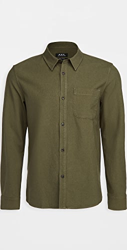 A.P.C. - Trek Cotton Linen Shirt
