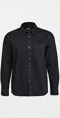 A.P.C. - Victor Washed Denim Shirt
