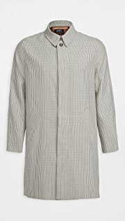 A.P.C. New England Checked Mac Jacket