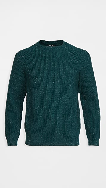 A.P.C. Ludo Wool Crew Neck Sweater